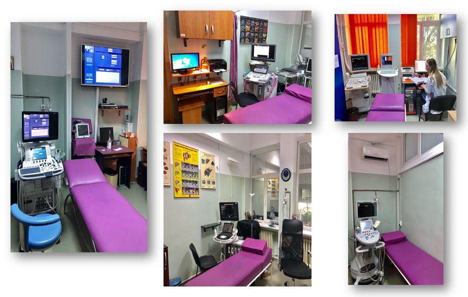Clinica de Gastroenterologie și Hepatologie – Serviciul de Ultrasonografie